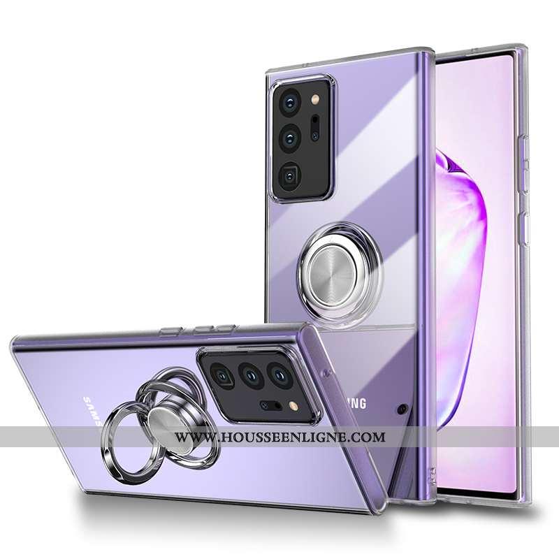 Coque Samsung Galaxy Note20 Ultra Personnalité Créatif Ultra Transparent Luxe Téléphone Portable Tou