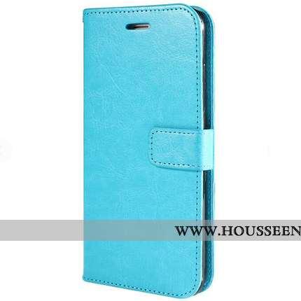 Coque Samsung Galaxy S10e Personnalité Créatif Bleu Fluide Doux Carte Protection Téléphone Portable