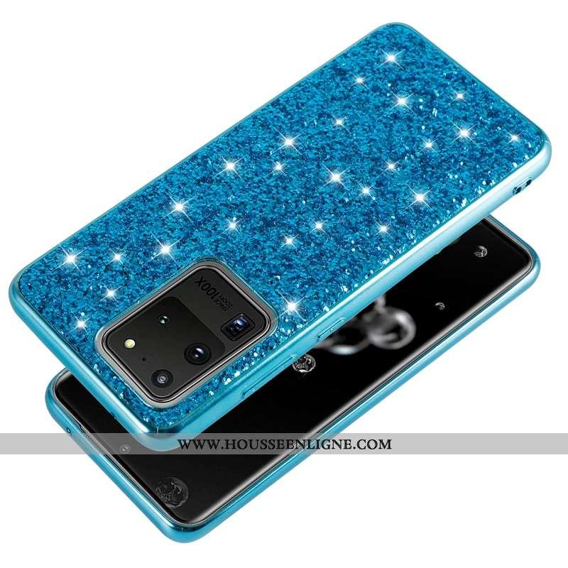 Coque Samsung Galaxy S20 Ultra Créatif Ultra Fluide Doux Tendance Légère Téléphone Portable Silicone