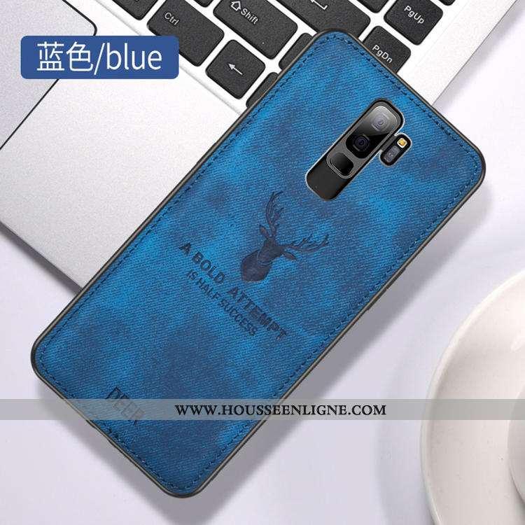 Coque Samsung Galaxy S9+ Ornements Suspendus Personnalité Business Simple Étoile Téléphone Portable