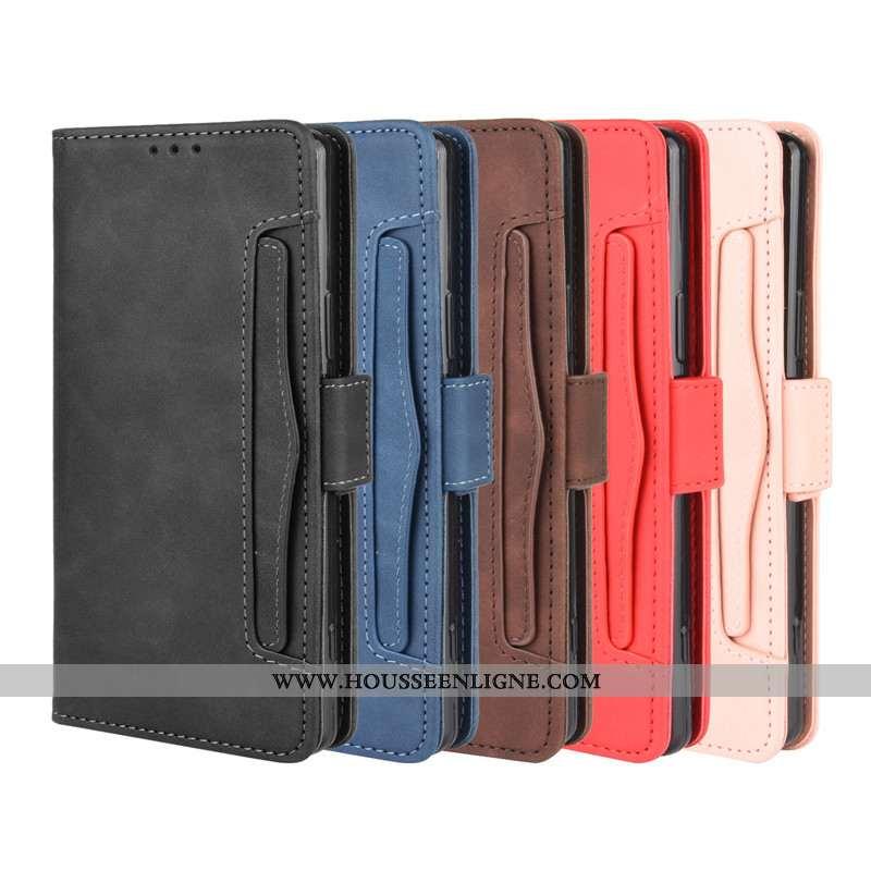 Coque Sony Xperia 1 Ii Fluide Doux Protection Cuir Housse Étui Téléphone Portable Noir