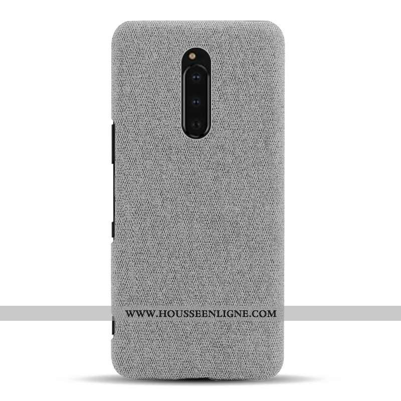 Coque Sony Xperia 1 Protection Légère Légères Étui Gris Téléphone Portable