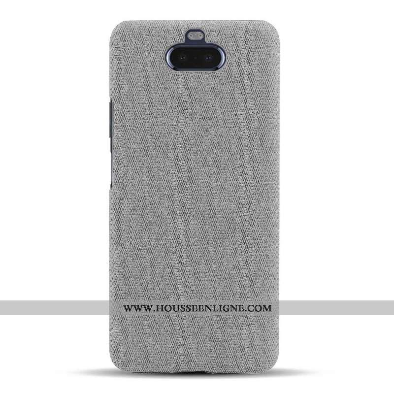 Coque Sony Xperia 10 Protection Légère Étui Légères Téléphone Portable Incassable Gris