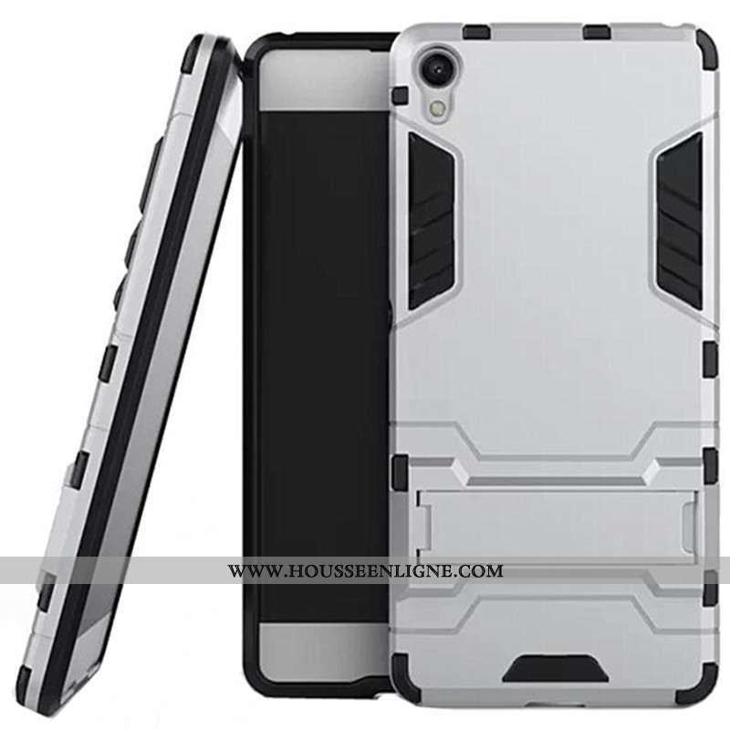 Coque Sony Xperia Xa Protection Gris Téléphone Portable Support Difficile Étui