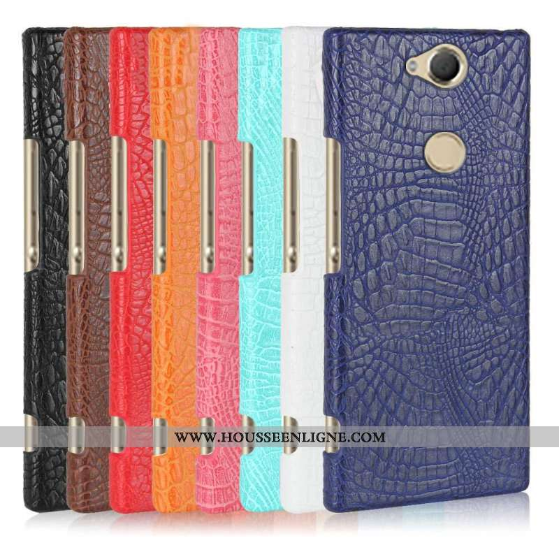 Coque Sony Xperia Xa2 Plus Protection Étui Téléphone Portable Bleu Marin Bleu Foncé