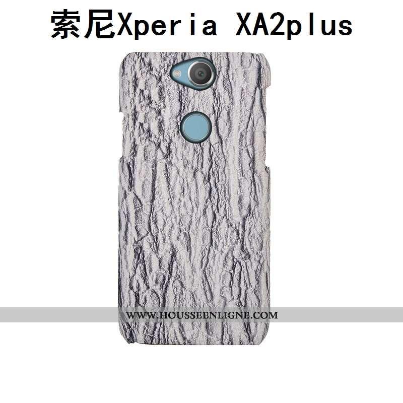 Coque Sony Xperia Xa2 Plus Protection Luxe Personnalisé Mode Créatif Gris Incassable