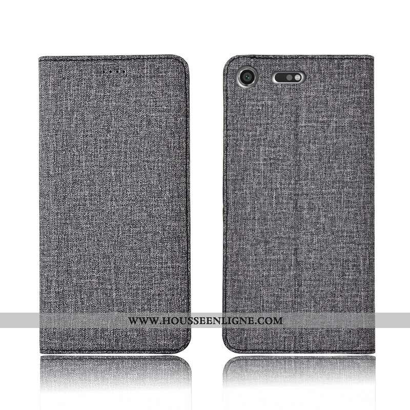 Coque Sony Xperia Xz1 Compact Fluide Doux Silicone Clamshell Incassable Téléphone Portable Protectio