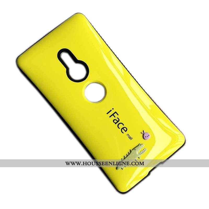 Coque Sony Xperia Xz2 En Silicone Protection Jaune Tout Compris Incassable Étui