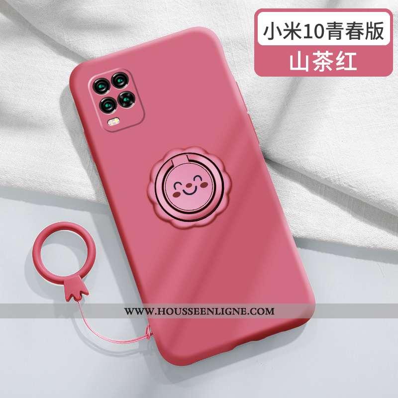 Coque Xiaomi Mi 10 Lite Personnalité Créatif Jeunesse Silicone Petit Nouveau Net Rouge