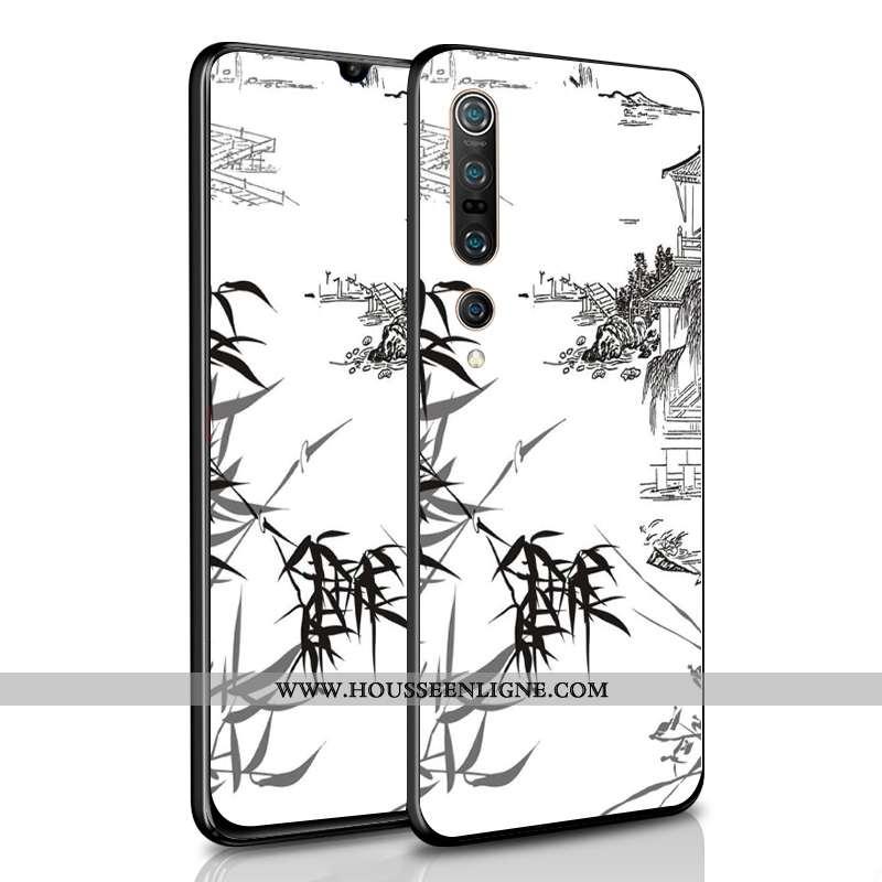Coque Xiaomi Mi 10 Pro Créatif Ultra Amoureux Mode Tendance Difficile Légère Blanche