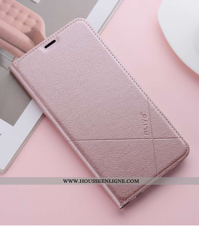 Coque Xiaomi Mi 8 Lite Protection Transparent Incassable Rose Jeunesse Cuir