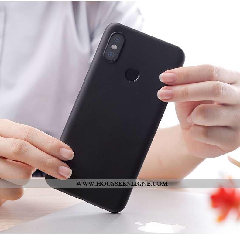 Coque Xiaomi Mi 8 Personnalité Créatif Incassable Nouveau Légère Ultra Tout Compris Noir