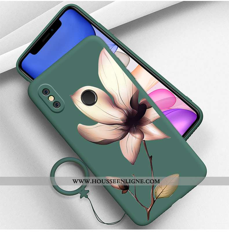 Coque Xiaomi Mi 8 Tendance Silicone Personnalité Jeunesse Créatif Téléphone Portable Tout Compris Ve