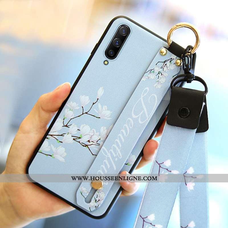 Coque Xiaomi Mi 9 Mode Personnalité Étui Bleu Fluide Doux Tout Compris Téléphone Portable