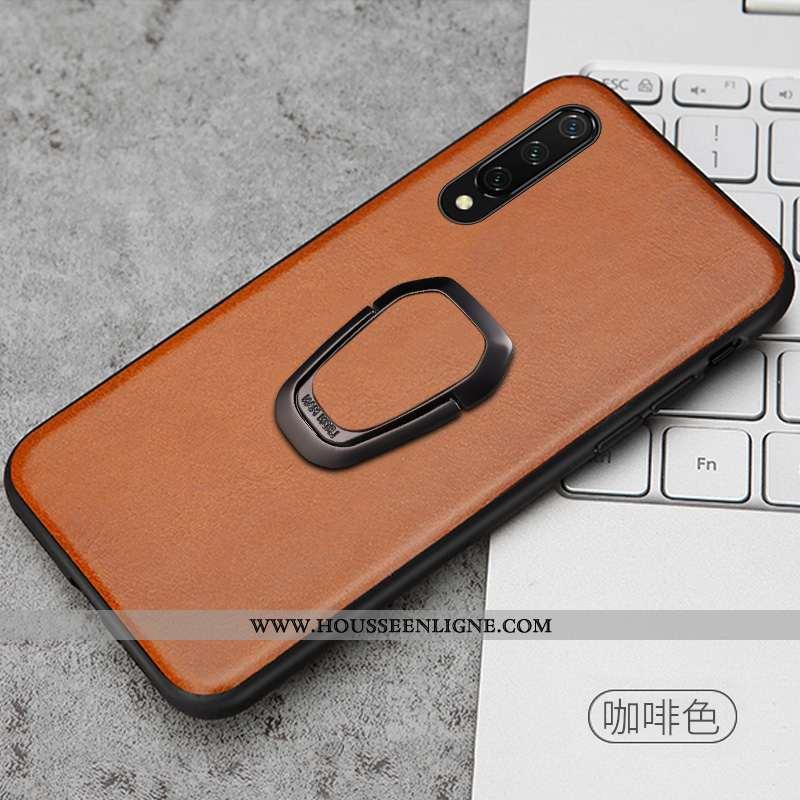 Coque Xiaomi Mi 9 Se Cuir Véritable Ultra Simple Créatif Légère Magnétisme Tout Compris Marron