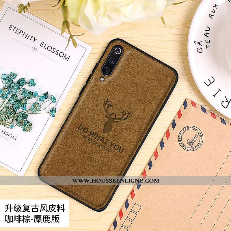 Coque Xiaomi Mi 9 Se Modèle Fleurie Protection Tout Compris Petit Téléphone Portable Personnalité Cr