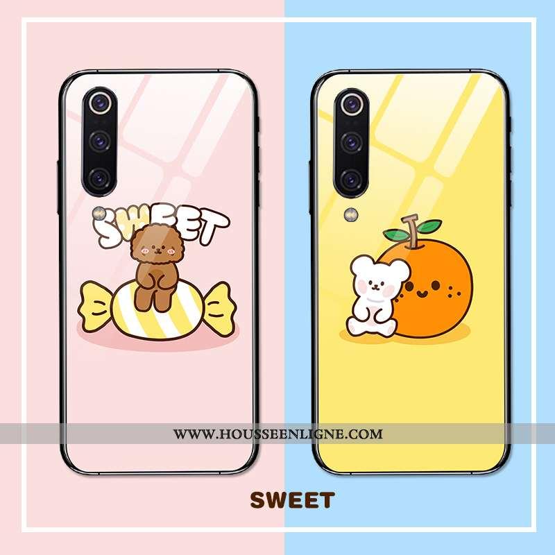 Coque Xiaomi Mi 9 Se Personnalité Créatif Étui Charmant Tendance Miroir Tout Compris Rose