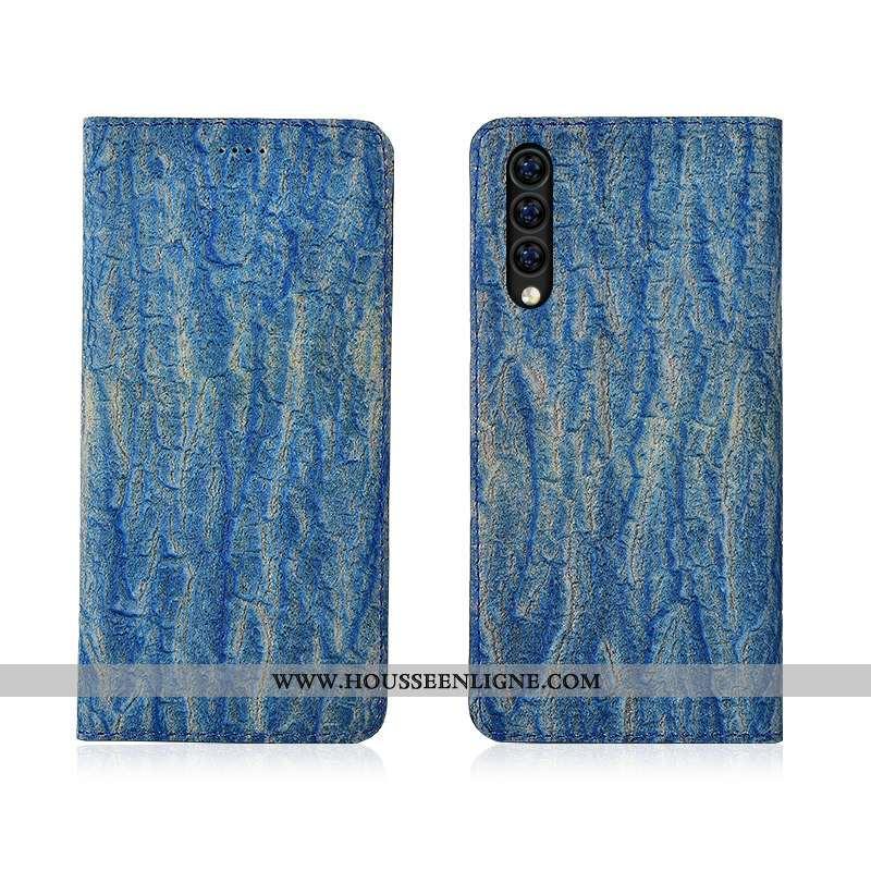 Coque Xiaomi Mi 9 Se Protection Cuir Tout Compris Personnalisé Fluide Doux Étui Bleu
