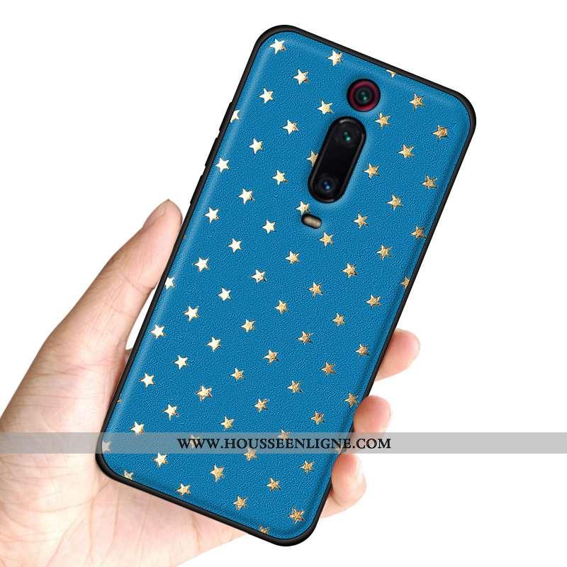 Coque Xiaomi Mi 9t Pro Personnalité Créatif Tendance Net Rouge Rouge Protection Bleu
