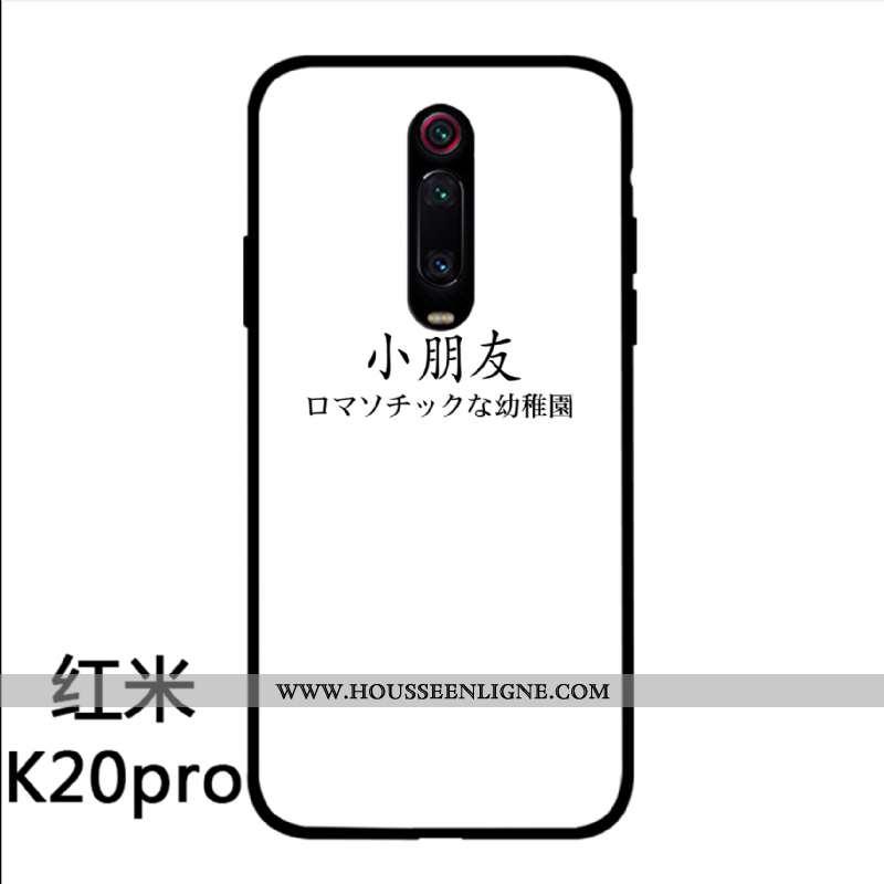 Coque Xiaomi Mi 9t Pro Protection Verre Incassable Amoureux Nouveau Téléphone Portable Blanche