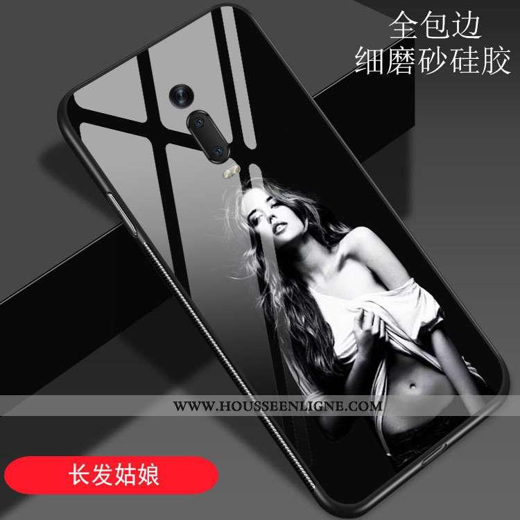 Coque Xiaomi Mi 9t Pro Verre Créatif Noir Art Rouge Europe Vent