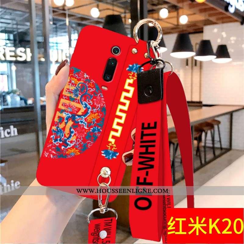 Coque Xiaomi Mi 9t Protection Ornements Suspendus Téléphone Portable Étui Style Chinois Personnalité