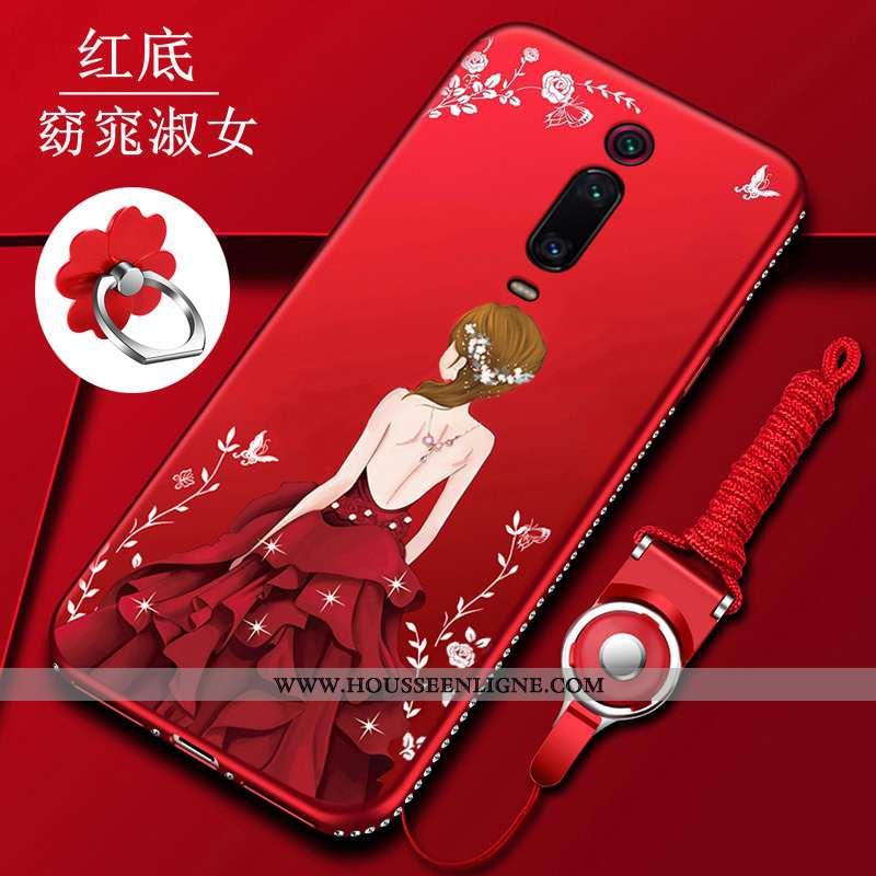 Coque Xiaomi Mi 9t Tendance Légère Silicone Téléphone Portable Incassable Tout Compris Fluide Doux R