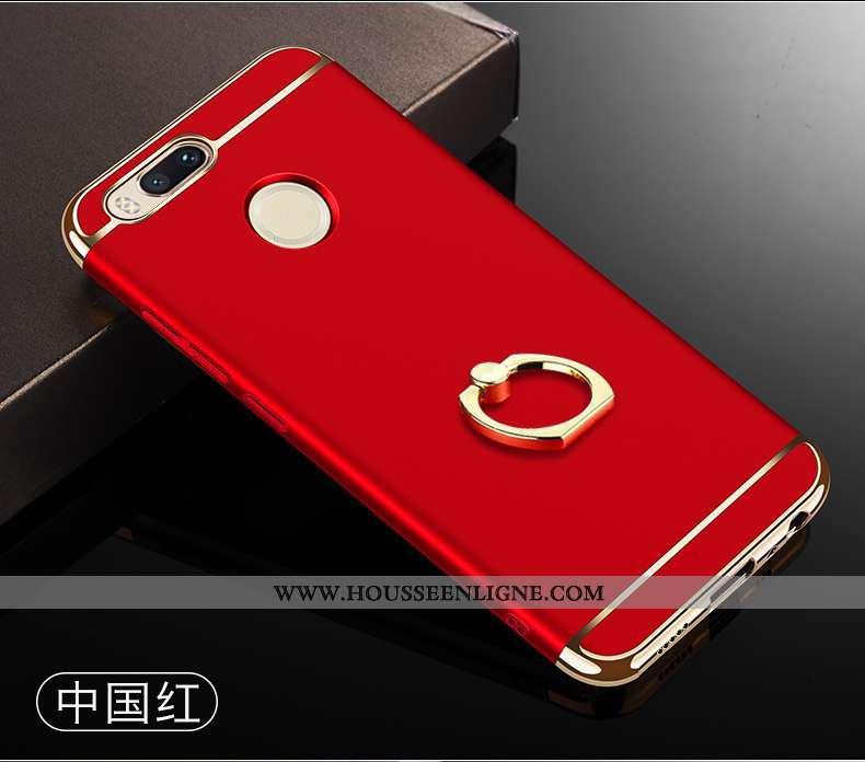 Coque Xiaomi Mi A1 Protection Support Étui Rouge Petit Grand Difficile