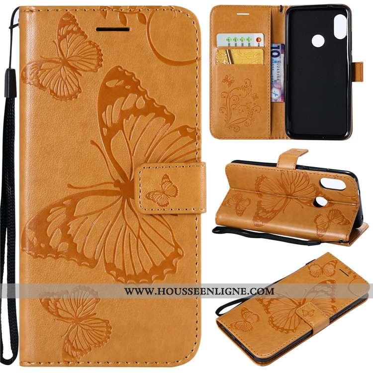 Coque Xiaomi Mi A2 Lite Fluide Doux Silicone Petit Incassable Tout Compris Téléphone Portable Jaune