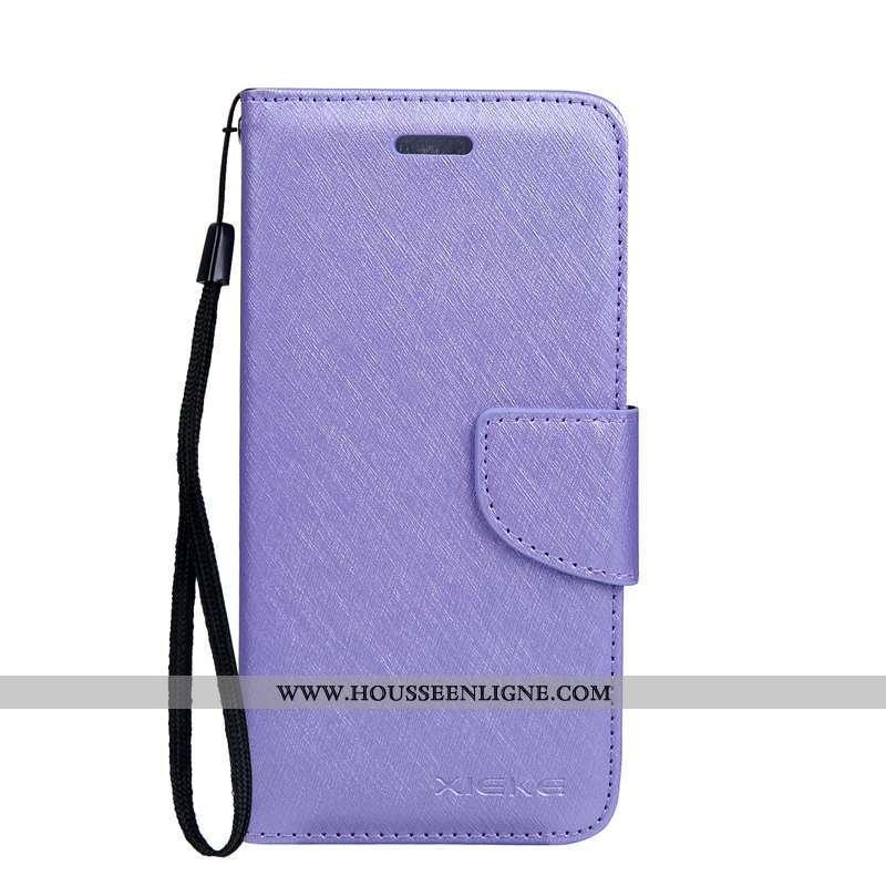 Coque Xiaomi Mi A2 Lite Modèle Fleurie Fluide Doux Soie Mulberry Protection Cuir Téléphone Portable