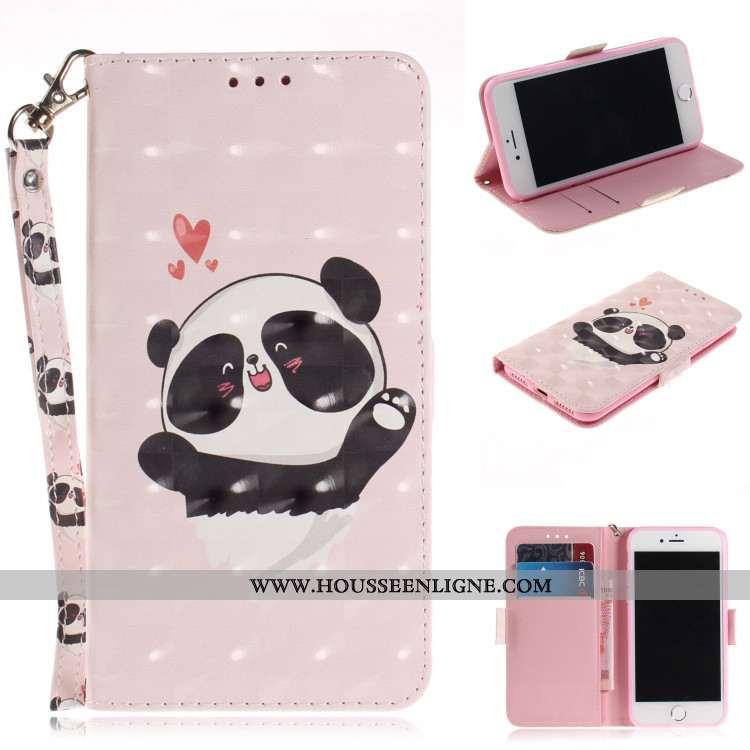 Coque Xiaomi Mi A2 Protection Dessin Animé Fluide Doux Plier Carte Portefeuille Téléphone Portable R