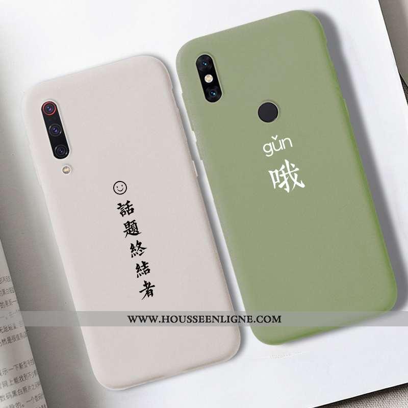 Coque Xiaomi Mi A3 Téléphone Portable Rouge Petit Beige