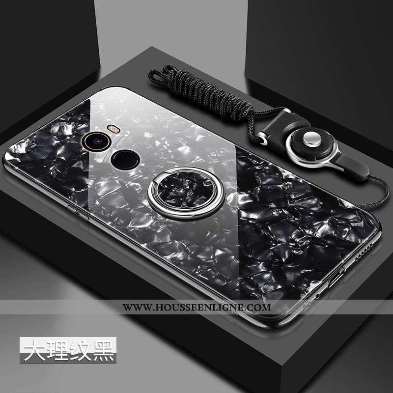Coque Xiaomi Mi Mix 2 Créatif Tendance Ornements Suspendus Protection Difficile Petit Tempérer Noir