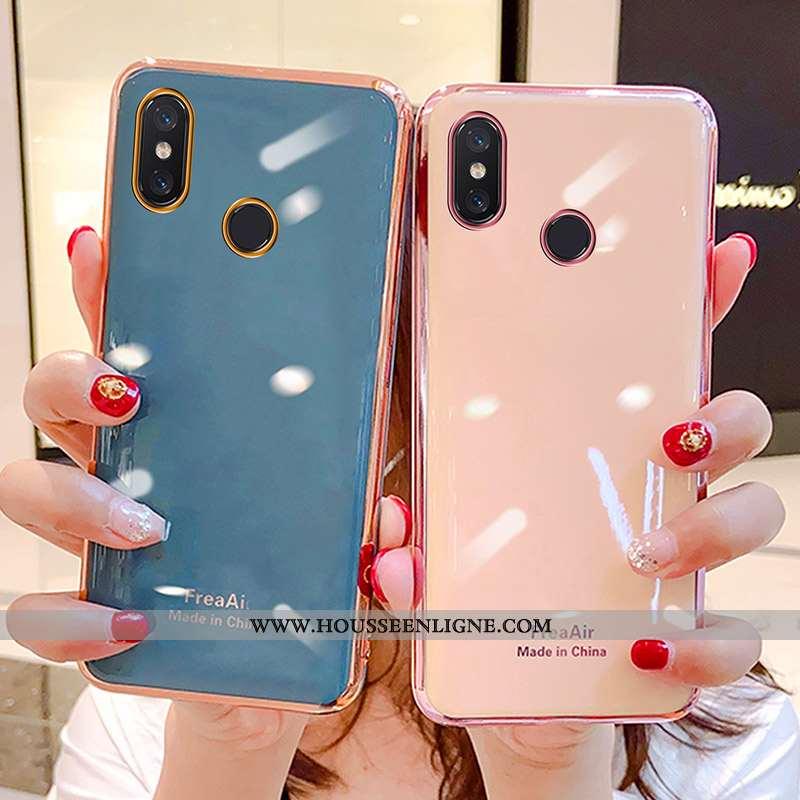 Coque Xiaomi Mi Mix 3 Protection Personnalité Légère Petit Net Rouge Incassable Étui Bleu