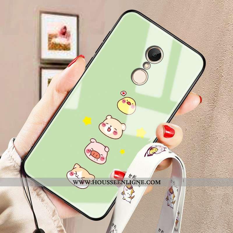 Coque Xiaomi Redmi 5 Créatif Charmant Tout Compris Personnalité Téléphone Portable Délavé En Daim Ve