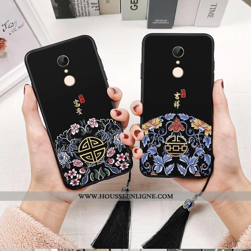 Coque Xiaomi Redmi 5 Fluide Doux Silicone Tout Compris Totem Créatif Personnalité Téléphone Portable