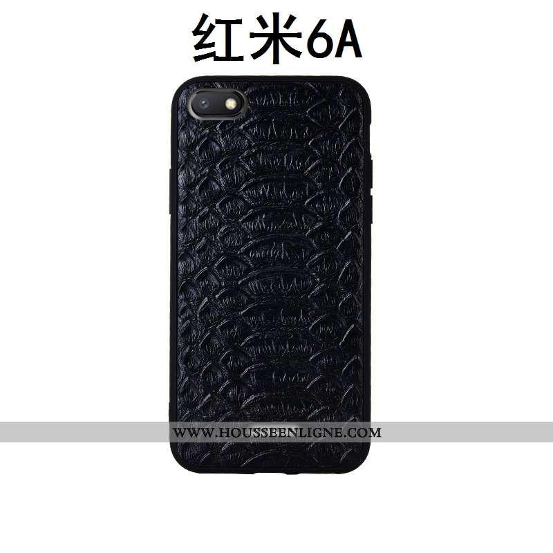 Coque Xiaomi Redmi 6a Fluide Doux Silicone Étui Qualité Rouge Petit Noir
