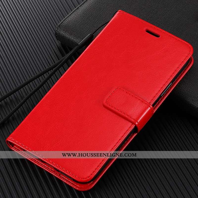 Coque Xiaomi Redmi 8 Silicone Protection Membrane Fluide Doux Étui Tempérer Rouge