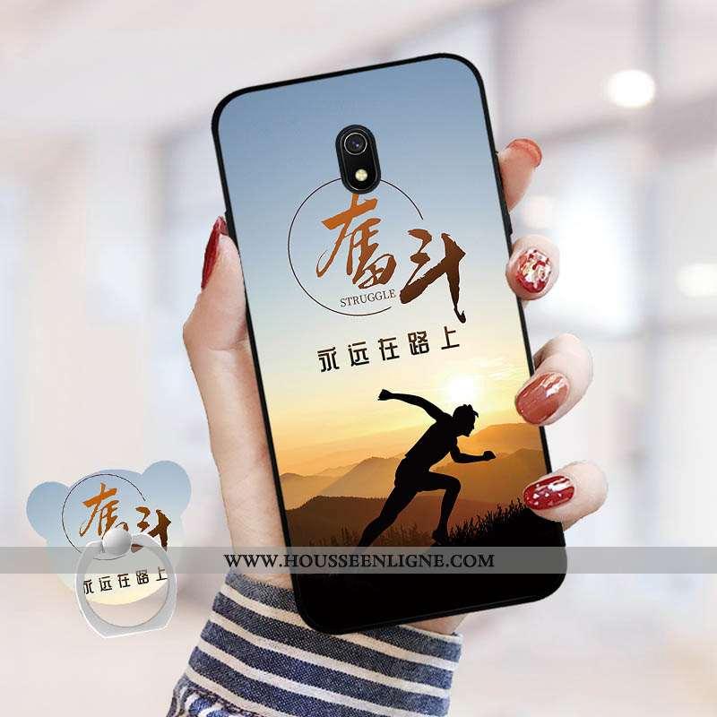 Coque Xiaomi Redmi 8a Personnalité Dessin Animé Rouge Téléphone Portable Net Rouge Tempérer Incassab