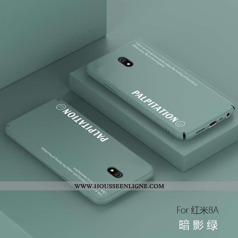 Coque Xiaomi Redmi 8a Protection Délavé En Daim Ultra Téléphone Portable Membrane Rouge Légère Verte