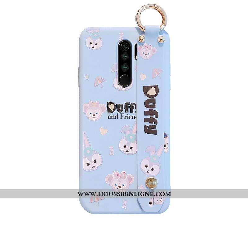 Coque Xiaomi Redmi 9 Charmant Tendance Étui Dessin Animé Bleu Lapin Protection