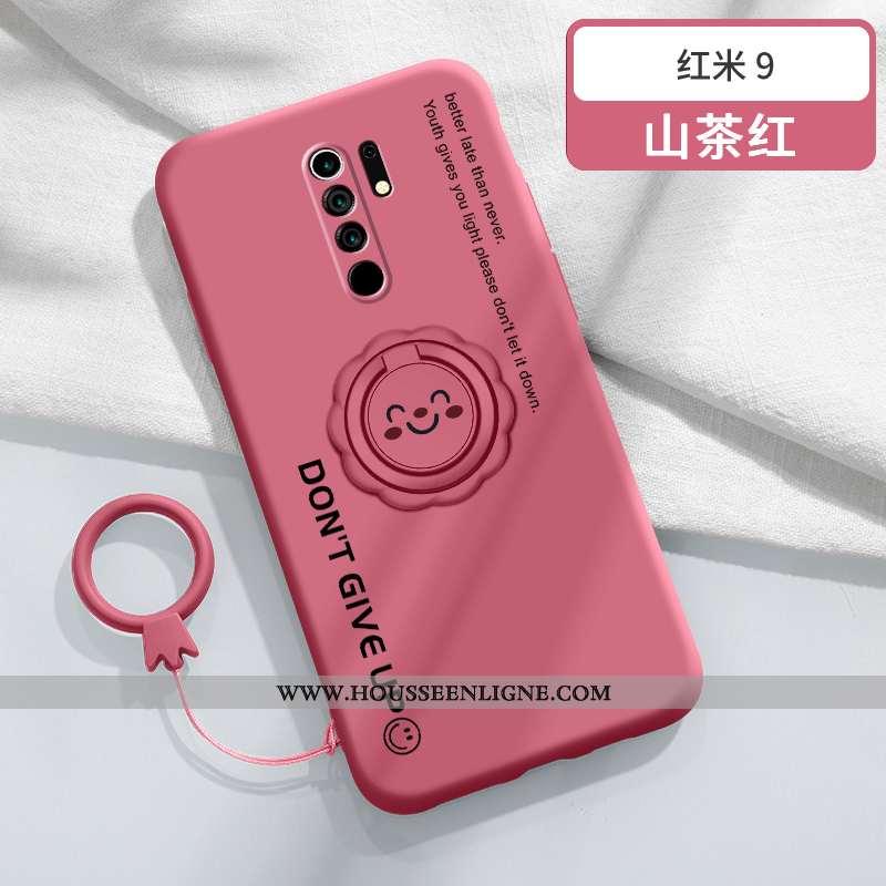 Coque Xiaomi Redmi 9 Personnalité Créatif Téléphone Portable Fluide Doux Protection Étui Tout Compri