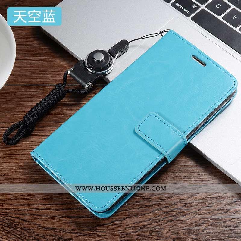 Coque Xiaomi Redmi 9 Silicone Protection Tout Compris Bleu Cuir Fluide Doux