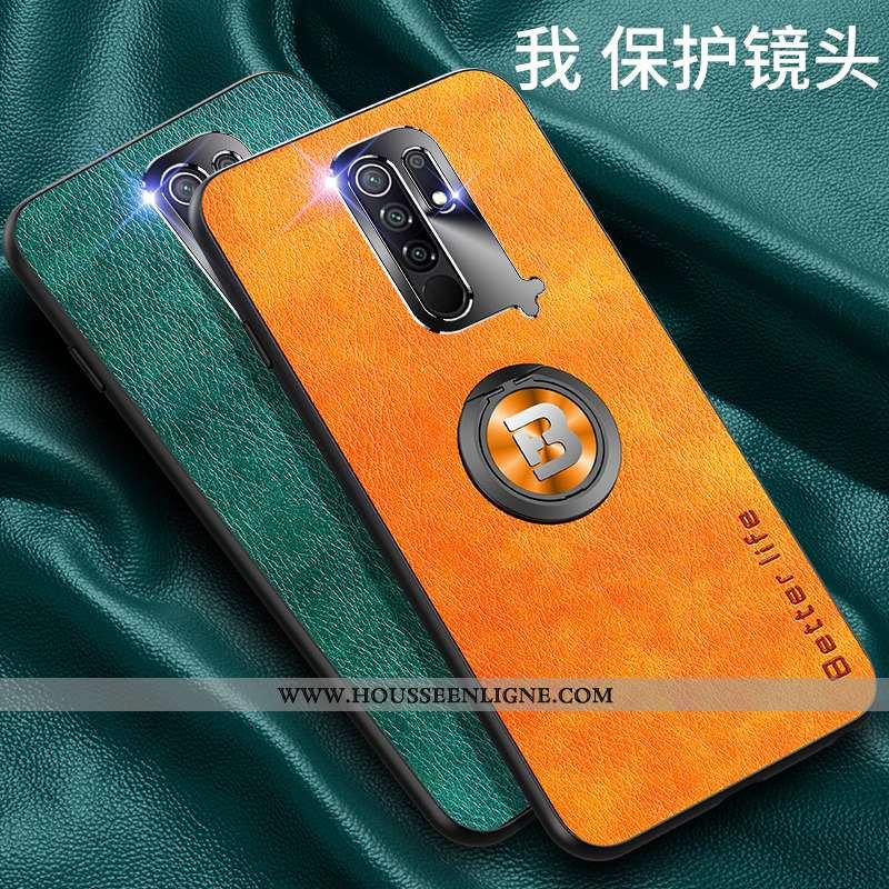 Coque Xiaomi Redmi 9 Tendance Légère Téléphone Portable Délavé En Daim Ultra Fluide Doux Petit Orang