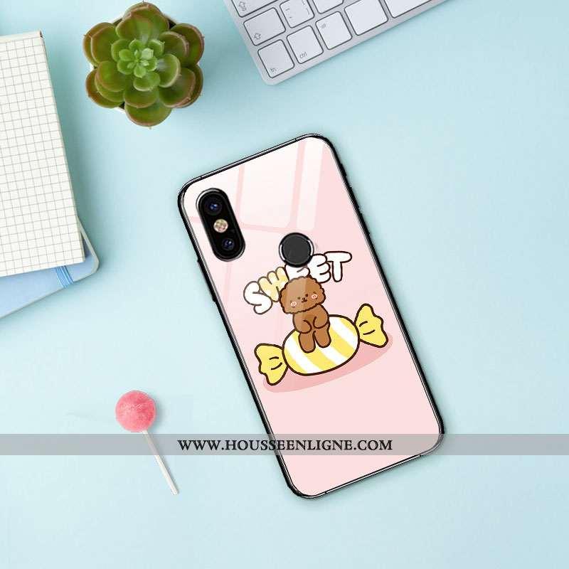 Coque Xiaomi Redmi Note 5 Créatif Dessin Animé Tout Compris Téléphone Portable Amoureux Personnalité