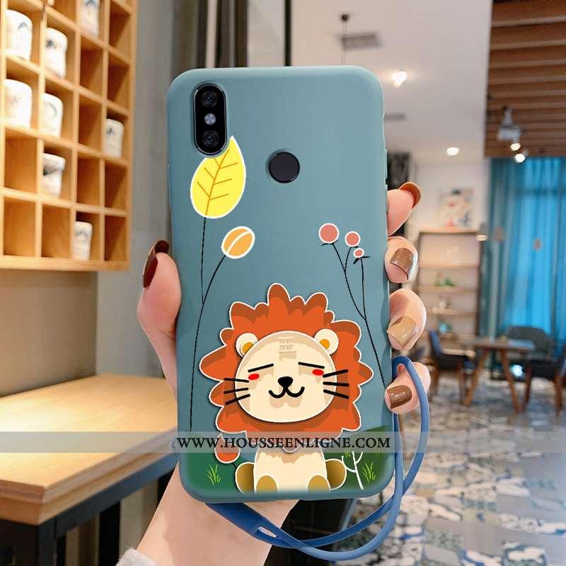 Coque Xiaomi Redmi Note 5 Fluide Doux Silicone Rouge Petit Incassable Lapin Téléphone Portable Bleu