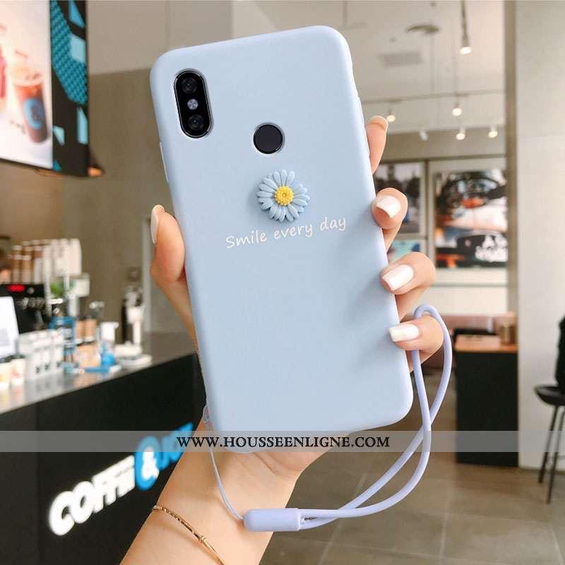Coque Xiaomi Redmi Note 5 Tendance Légère Haute Protection Créatif Ultra En Bois Bleu