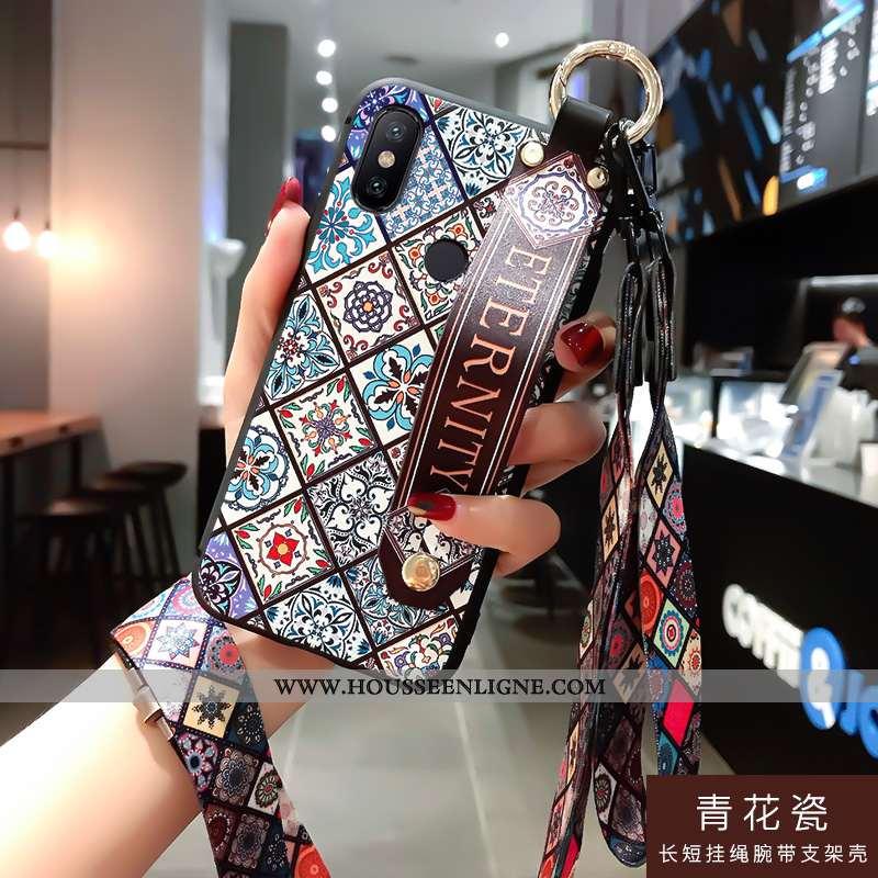 Coque Xiaomi Redmi Note 6 Pro Silicone Protection Téléphone Portable Incassable Tempérer Fluide Doux