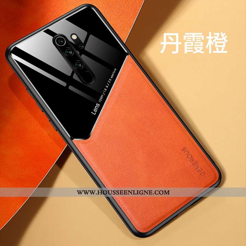 Coque Xiaomi Redmi Note 8 Pro Cuir Silicone Incassable Magnétisme Difficile Téléphone Portable Petit