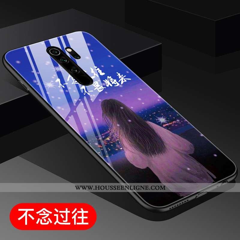 Coque Xiaomi Redmi Note 8 Pro Protection Verre Tout Compris Créatif Téléphone Portable Incassable Vi